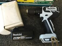 Makita new brushless combi drill and 4ah battery