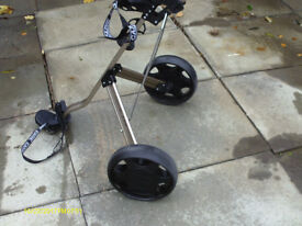 """""""EVOLUTION PLUS"""" STRONG PUSH/PULL GOLF TROLLEY"""