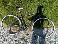 Handbuilt Hybrid Bicycle