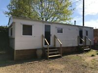 28 ft static caravan for rent