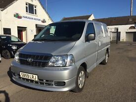 Free Delivery *** 2009 TOYOTA HIACE VAN 2.5L Diesel FSH One owner Year Mot Warranty ***Free Delivery