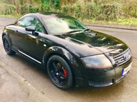 ***AUDI TT 1.8 225 QUATTRO 2001 BLACK***MAY SWAP/TRADE/PX