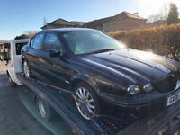 Jaguar x type 2.0 diesel spares or repair or for parts