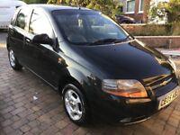 Chevrolet kalos 1.4 automatic,new mot,lady owner