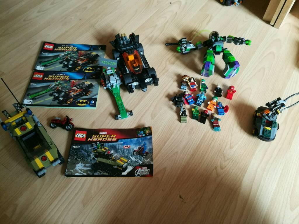 Lego marvel/dc bundle