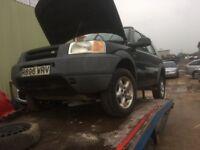 Land rover freelander diesel** breaking**