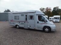 Rapido Randonneur 7065+ Motorhome for sale,Low Profile,2 x Fixed Single Beds,Full Rear Bathroom