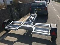 Towing Dolly Trailer Car Recovery with Winch, Ramps and Extras