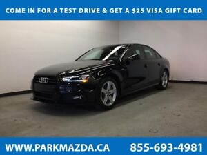 2016 Audi A4 Progressiv Plus AWD - Bluetooth, NAV, Backup Cam, 2