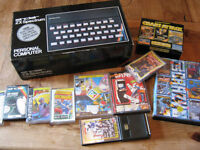 ZX Spectrum + Games Boxed