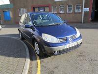 2003 Renault Scenic 1.9 Liter Diesel, Manual Gearbox, 64,000 miles