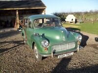 Morris Traveller 1970 for restoration. Complete with new wood and spares. ***Reserved**