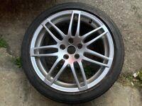 Audi s-line alloy wheel genuine 18 inch