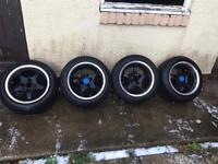 14inch 4x100 not sure what they are