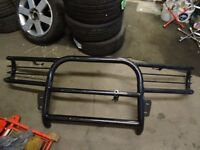 ford transit 1999-2006 FRONT NUDGE BAR BLACK FIRST £90