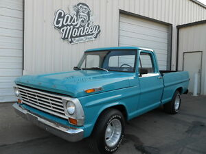 1970-Ford-F100-SWB-V8-Automatic-PS-PB-Resto-Driver-offered-by-Gas-Monkey-Garage