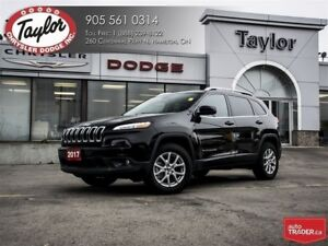 2017 Jeep Cherokee North 4x4 4 Cyl w/Heated Seats, Backup Cam, R