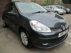 Renault Clio 1.5 DCI 65 EXPRESSION 12 MONTHS MOT, SERVICED, 3 MONTHS WARRANTY AND 12 MONTHS AA COVER