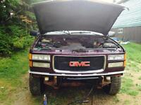 Parting out a 1995 gmc 4x4