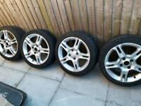 Fiesta zetec s alloy wheels alloys