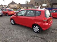 2005 HONDA JAZZ///LOW MILAGE ///MOT AUGUST 2017//BARGAIN