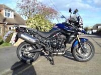 2012 Triumph thger 800 excellent condition