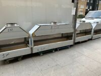 2 M LONG BBQ KEBAB MANGAL GRILL CATERING COMMERCIAL KITCHEN FAST FOOD TAKE AWAY SHOP BBQ