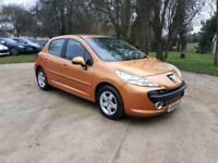 Peugeot 207 1.4 petrol 2008 mot 1 year