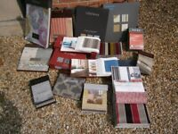 Upholstery Sample Books of Beautiful Upholstery fabrics X 16 for sale  Bourne, Lincolnshire