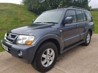 Mitsubishi Shogun 3.2 DI-D Elegance 5dr - Full Service History - New MOT Included