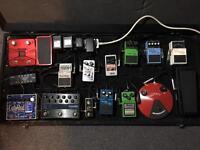Guitar pedals: studio liquidation!