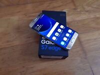 SAMSUNG S7 GOLD 32 GB EDGE UNLOCKED GOOD CONDITION BOXED ONLY £320