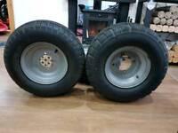 Road buggy wheels