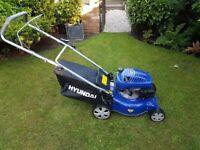 Hyundai petrol lawn mower