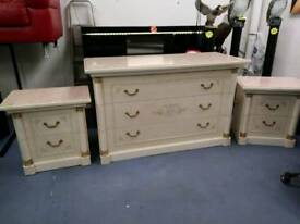 Italian design large bedroom sets of drawers