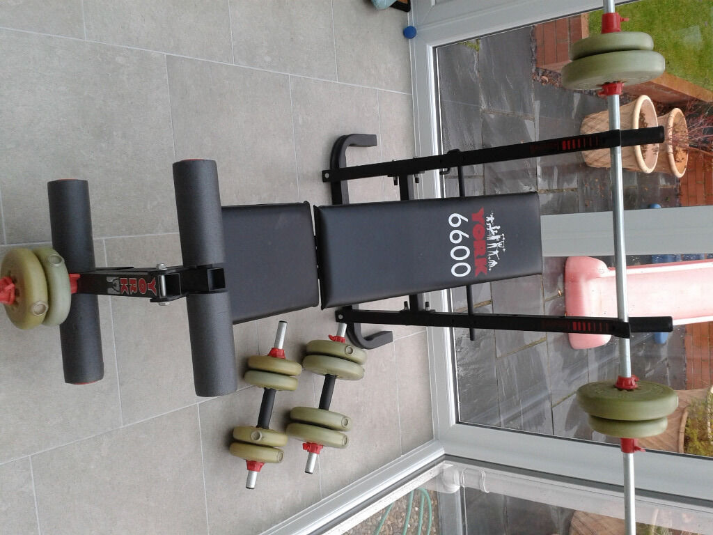 york 6600 weight bench. york 6600 bench and weights weight