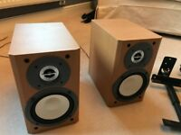 Sony Speakers - Great Condition + wall mounting brackets