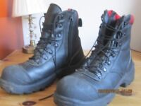REDWING BOOTS size 7 laceup/ safety toecap