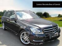 Mercedes-Benz C Class C250 CDI AMG SPORT EDITION PREMIUM (black) 2014-09-29