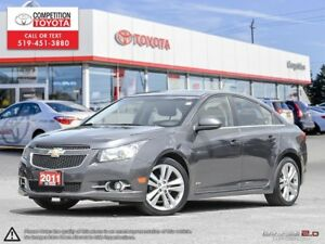 2011 Chevrolet Cruze LT Turbo One Owner, No Accidents