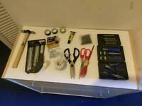 Tools, Hammer and Scissors