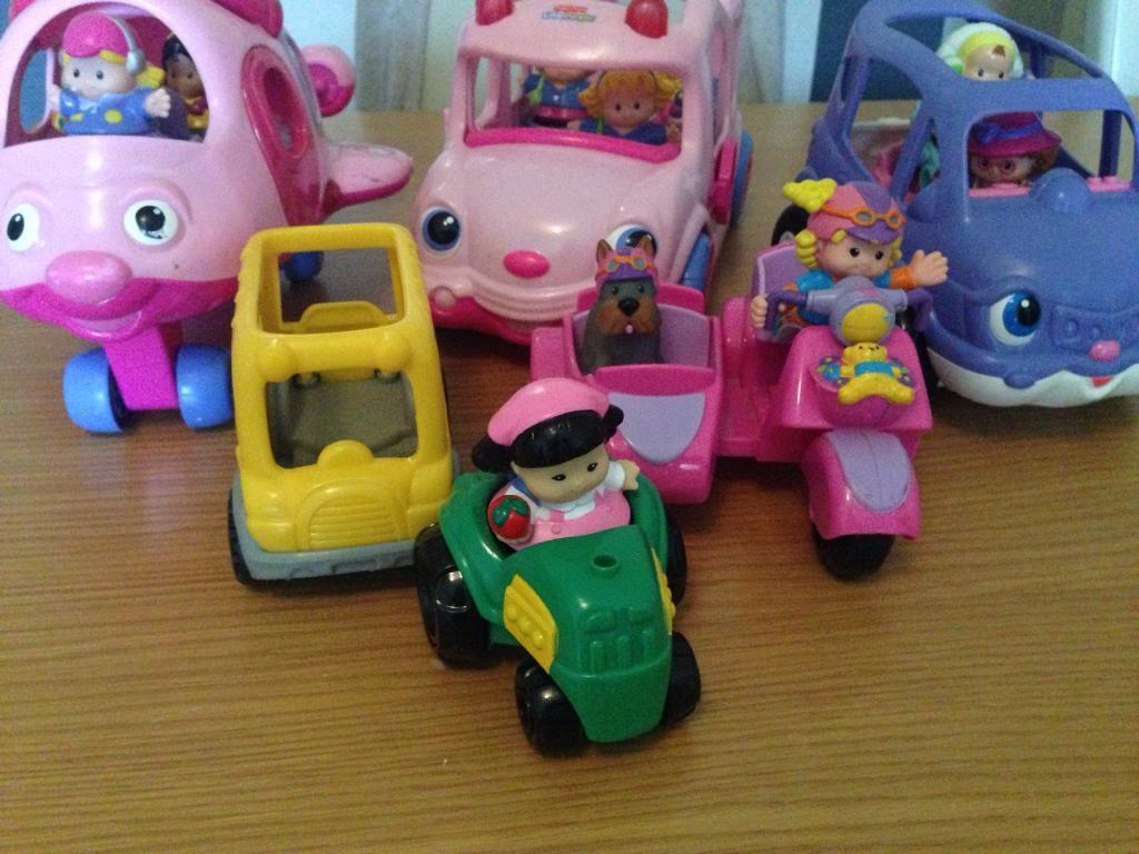 Fisher Price little people vehicles and characters