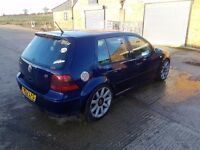 vw golf mk4 gt tdi modified , hybrid turbo , slammed ,german import