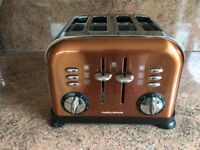 Morphy Richards Copper Toaster - Great Condition