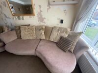DFS 4 seater & 2 seater cuddler sofa