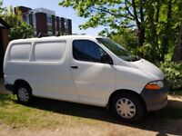 Toyota Hiace, MOT until Oct, very good working order, electric windows, 2 previous owners