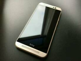 "Unlocked ""Sealed"" HTC One M9 32GB warranty with receipt clearance full accessories"