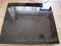 BAUMATIC CERAMIC HOB ELECTRIC GLASS SIZE 19IN ON 22IN