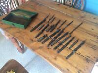 Heavy duty drill bits