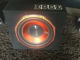 10 inch Edge subwoofer with built in smp